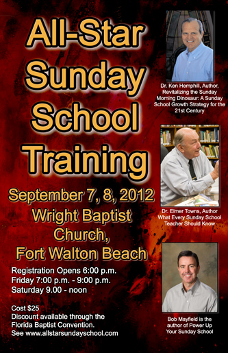 All Star Sunday School Training